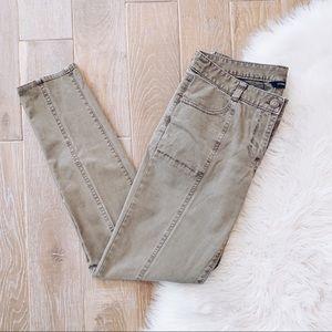 J. Crew Olive Green Skinny Jeans